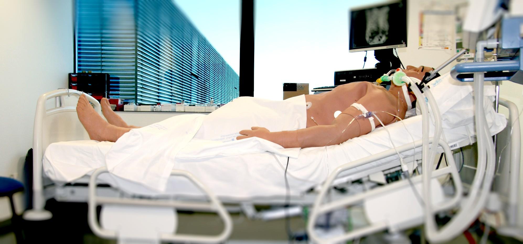 Maniquies de alta tecnología para la simulación clínica