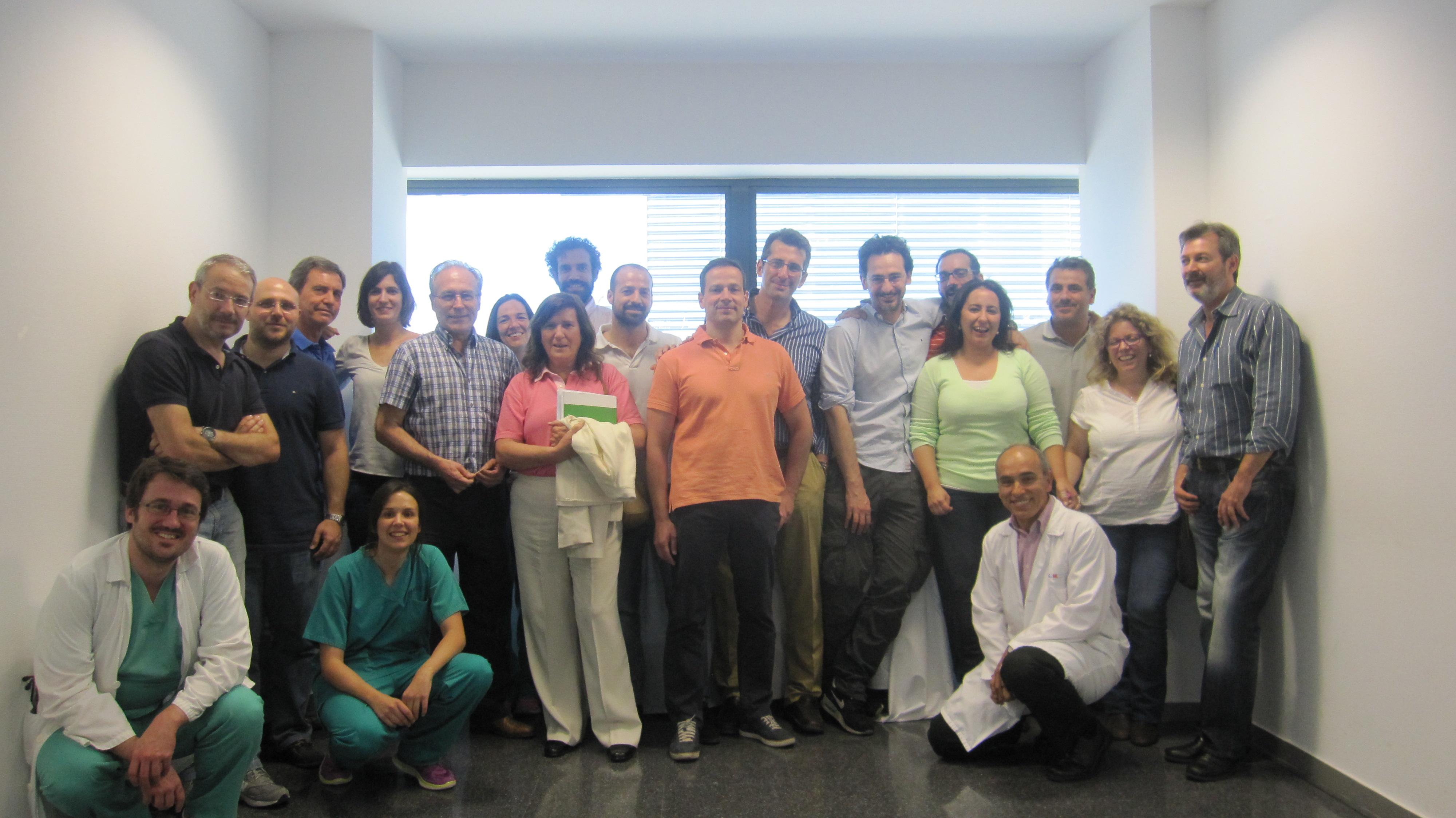 Hemos celebrado el curso de RCP para médico del Hospital Sanchinarro Sanitas