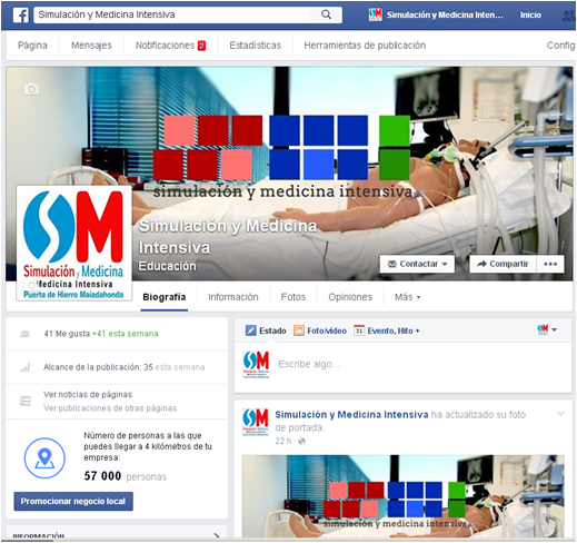 Os presentamos nuestro nuevo perfil de Facebook y Twitter