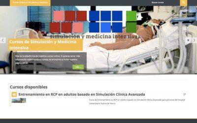 Nuevo portal de cursos online de Simulación y Medicina Intensiva