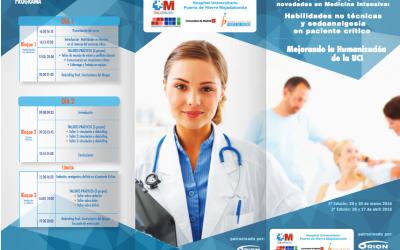 Simula, reflexiona y aprende sobre Novedades en Medicina Intensiva: Habilidades no técnicas y sedoanalgesia en paciente crítico. Mejorando la Humanización de la UCI