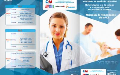 3ª Edición de Simula, reflexiona y aprende sobre Novedades en Medicina Intensiva: Habilidades no técnicas y sedoanalgesia en paciente crítico. Mejorando la Humanización de la UCI